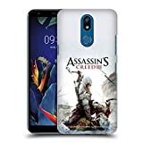 Head Case Designs Ufficiale Assassin's Creed Connor Ascia III Arte Chiave Cover Retro Rigida per LG K40 / K12 Plus