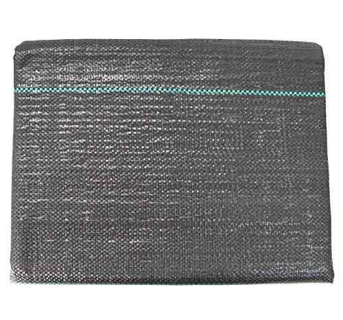 Masgard® Bändchengewebe 100 g/m² Bodengewebe Unkrautfolie Verschiedene Abmessungen Hohe UV-Stabilisierung (2,00 m x 5,00 m = 10 m² (Gefaltet))