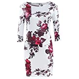 Frauen Kleid,Xinan Frauen-Drucken-Kleid-Hüllen-reizvolles Kleid Tunika Bodycon Kleider Vestidos Robe (M, Multicolor)