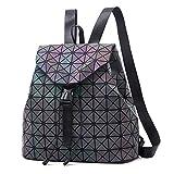 MMTC Geometrische Rhombische Umhängetasche Tasche Weibliche Reflektierende Stoff Fluoreszierende Gradienten Rucksack Weiblichen Tasche Laser Tasche,2