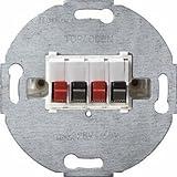 Hager 457309 Metallo, Plastica cassetta di derivazione elettrica