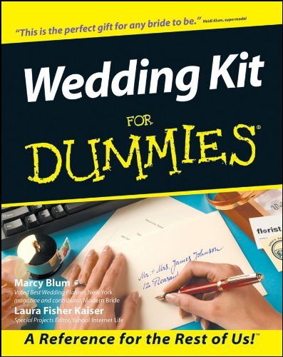 Wedding Kit For Dummies (English Edition)