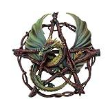 Pentagramm mit Drache Forest - Anne Stokes - Figur Fantasy Deko Dragon
