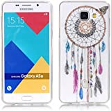 Galaxy A5 2016 Coque , YIGA Papillon Dreamcatcher Transparent Silicone Doux TPU Housse Gel Etui Case Cover pour Samsung Galaxy A5 2016 A510 ( pas pour Samsung Galaxy A5 2015 )