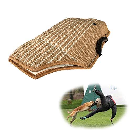 Jnzr Hundebiss-Ärmel, Armschutz-Beweglichkeitsausrüstung Biss-Ärmel-Trainingsausrüstung Komfortables Anti-Riss-Training für Junge Hunde
