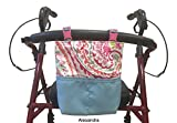 Granny Jo Products Bainbridge - Walker Bag - Rollator Bag (Alesandra)