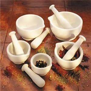 Kitchen Craft Mortier et pilon Céramique 136 mm
