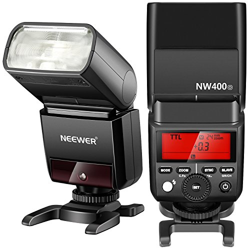 Neewer-Flash-Master-Slave-Speedlite-24G-Wireless-TTL-HSS-18000s-GN36-per-Fotocamere-Olympus-E-M10II-M5II-M1-E-PL8-PL7-PL6-PL5-P5-P3-PEN-F-Panasonic-DMC-GX85-G7-GF1-LX100-G85-con-Diffusore-Solido-NW400