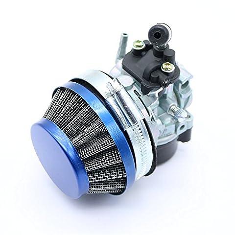 Racing Carb Carburateur filtre à air pour 50cc 60CC 80cc 2temps à gaz motorisé Vélo