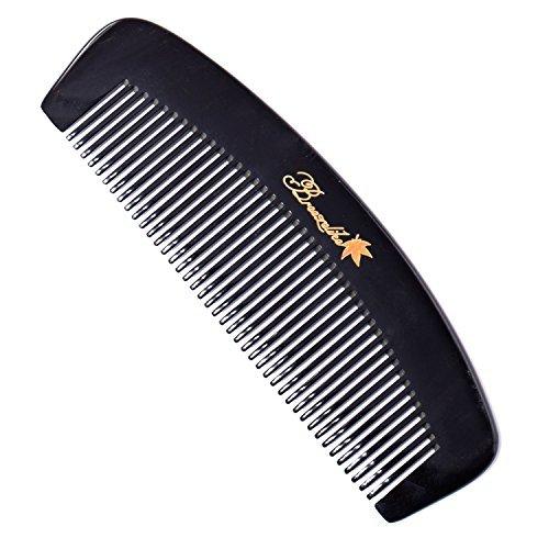 Breezelike Haare Kamm - Anti-statische natürliche Buffalo Hornkamm - handgemachte entwirren Kamm mit Geschenkbox - Horn Hair Comb
