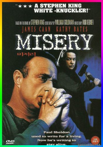 misery-1990-james-caan-kathy-bates-wendy-bowers-thomas-brunelle-lauren-bacall-dvd-all-regions-import