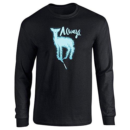 Pop Threads Always. Doe Patronus Movie Long Sleeve T-Shirt by