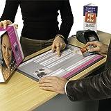 Thekendisplay A3 DeskWindo für Poster DIN A3, Theke Tisch Kasse Zahlteller