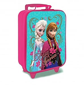 Disney Frozen Children's Luggage, 14 Liters, Aqua by Disney Frozen