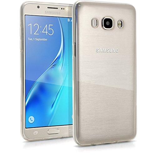 TecHERE UltraCase - Custodia Cover Ultra Trasparente e Leggera per Samsung Galaxy J5 (2016) J510 in Morbido Silicone di Alta qualità Anti-Ingiallimento - Pellicola Protettiva per Schermo Inclusa