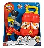 Simba 109250916 - Feuerwehrmann Sam Tankrucksack in rot Test