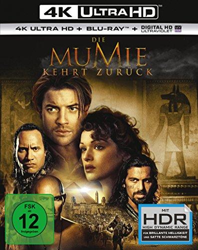 Die Mumie kehrt zurück - Ultra HD Blu-ray [4k + Blu-ray Disc]
