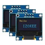 IZOKEE 0.96 Pouce I2C IIC Série 12864 128x64 Pixels OLED LCD Module Affichage...