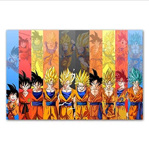 Yhnjikl Dragon Ball Super Poster Goku Ultra Instinct