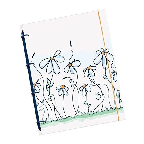 Schaar-Design flexiNotes NOTIZBUCH A5 nachfüllbar mit Register, Collegeblock + Ringbuch vereint als...