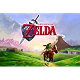 The Legend Of Zelda: Ocarina Of Time - Gaming Poster (Size: 36 x 24) by Posterstoponline
