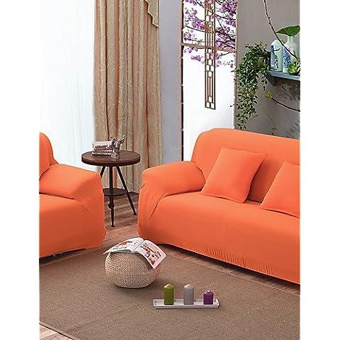ZY/ solida stretta all-inclusive divano asciugamano fodera antiscivolo in tessuto fascia elastica divano (arancione / beige / viola chiaro) , sofa cover-beige , sofa cover-beige