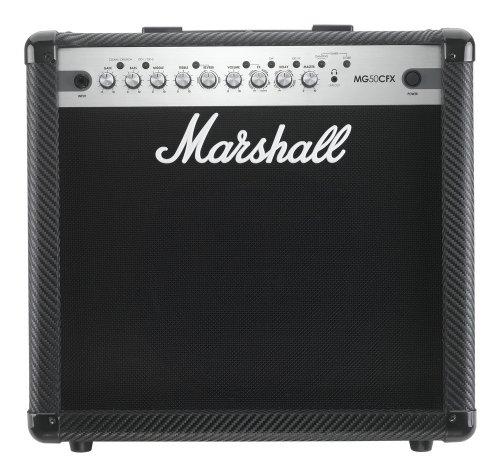 Marshall MG50CFX Combo - Amplificador de guitarra eléctrica con efectos, 50 W