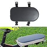 Auvstar - Cuscino per portapacchi della bici per il trasporto di bambini, TZ-118, Black seat1