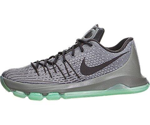 save off 8486c e8b85 Nike KD 8, Zapatillas de Baloncesto para Hombre, Plateado Gris Negro