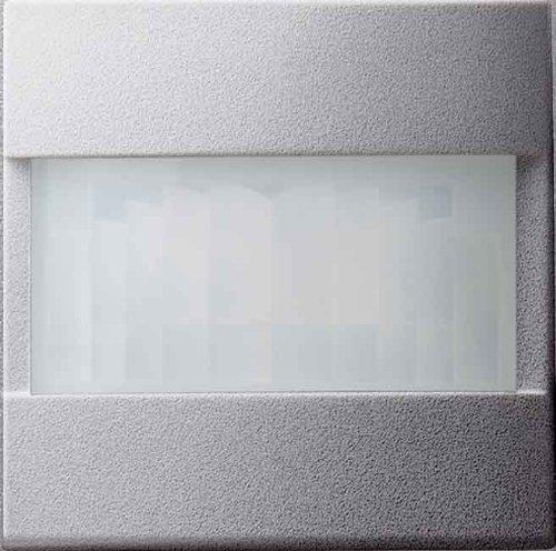GIRA 066126 Aluminio interruptor de luz - Interruptores de luz (Aluminio, IP44,...