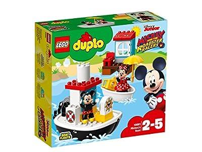LEGO DUPLO Disney - Le bateau de Mickey - 10881 - Jeu de Construction