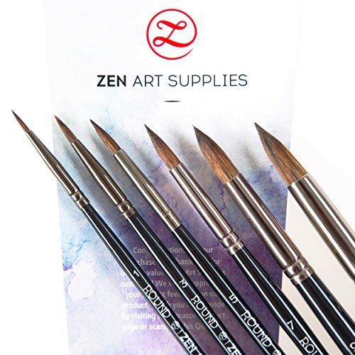 zenart-supplies-black-tulip-professional-artist-paint-brushes-6-piece-set-for-watercolor-gouache-acr