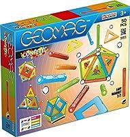 Novit Geomag 2018! Divertimento senza fine e senza limiti con questa scatola da 50 pezzi, della nuova collezione Confetti Geomag