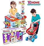 #4: Hi-Widze Super Market Set with Shopping Basket ABS Plastic See Available Choices Super Market Set with Shopping Basket (Multi-1)