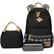 Mochilas Lona Mujer Mochila Escolar Casual Para Chicas backpack for girls 3pcs