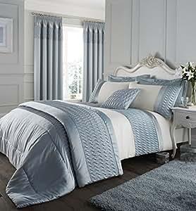 catherine lansfield parure de lit avec housse de couette. Black Bedroom Furniture Sets. Home Design Ideas