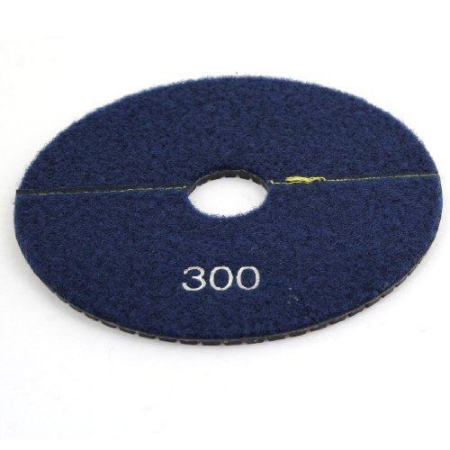 Preisvergleich Produktbild DealMux 5,9-Zoll-Durchmesser 300 Grit Stein Granit Diamant-Polierauflage, Dunkelblau