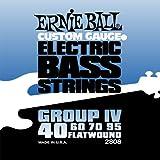 Cuerdas eléctricas bajo Ernie Ball Flatwound Group IV - 40-95 Gauge