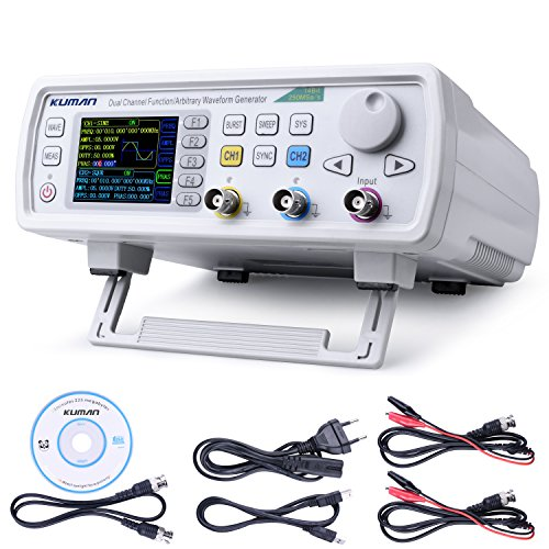 Kuman FY6600 30MHz Hochpräzise Dual-channel DDS Arbitrary Signal Waveform Generator Counter, 2.4in Bildschirm Screen Display, 250MSa /s, 8192 * 14bits, Frequency meter, VCO, Burst, Modulation Funktion