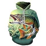 Fisch Print Hoodies Seaworld 3D Männer Trainingsanzüge Sweatshirt Unisex Drop Ship Langarm Pullover Sommer HH108 6XL