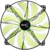 Aerocool Silent Master LED Lüfter 200 mm grün