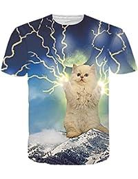 Crazboy Oberteile, 2019 Lustige Männer 3D Print Sommer Kurzarm Casual Tee T-Shirts  Top c00944521d
