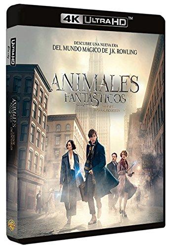 Animales Fantásticos Y Donde Encontrarlos Blu-Ray Uhd [Blu-ray]