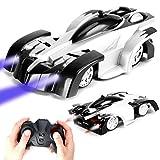 SAIBIT Ferngesteuertes Auto, Wandkletterwagen Dual Modes 360 ° Drehung Stunt Zero Gravity RC Auto (Weiß in Schwarz)