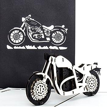 Bastelecke Geburtstagskarte 28 Zum 25 Motorrad Kikis