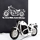 'Carte pop-up Moto – Harley Davidson – 3D Card Motorbike/bon d'achat d'invitation, Voyage, Moto Moto Carte...