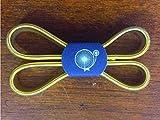 Reggimanica color oro, due pezzi per confezione barman shaker tin
