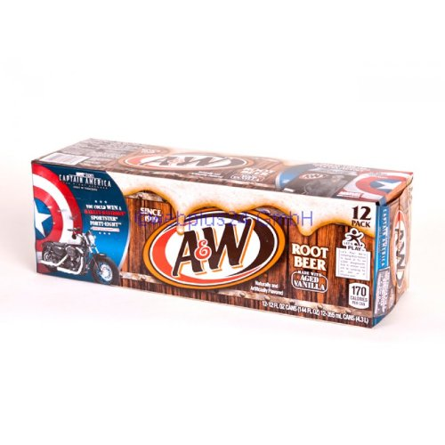 A&W Root Beer 12oz (355mL) - 12 Pack
