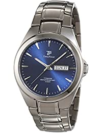 Time Piece Herren-Armbanduhr Titan Analog Quarz TPGT-50329-31M