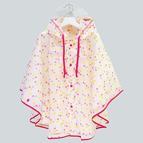 SWIHEL Children Raincoat, Kids Rain Poncho, Reusable And Waterproof Raincoat, Environmental Tasteless Raincoat.